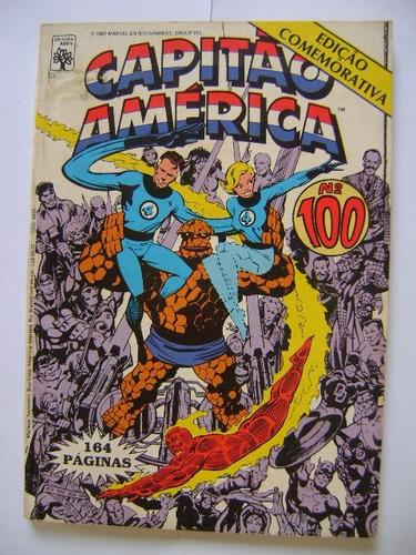 capitão américa  nº100 set 87 editora abril