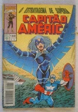 capitão américa nº188 - marvel - editora abril.