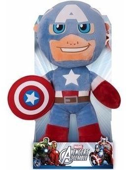 capitão américa - pelúcia - buba - cod. 2513