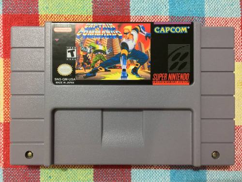 capitão comando captain commando snes super nintendo