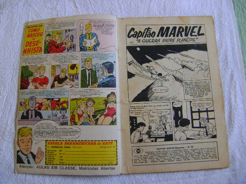capitão marvel magazine nº 90 rge bom!