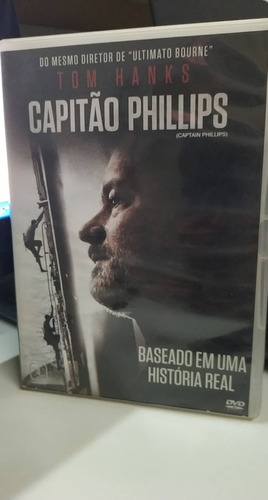 capitão phillips - tom hanks -dvd