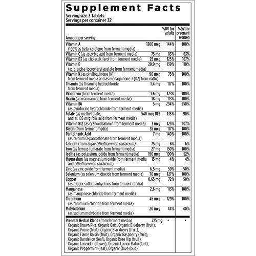 capítulo nuevo vitaminas prenatales perfectas