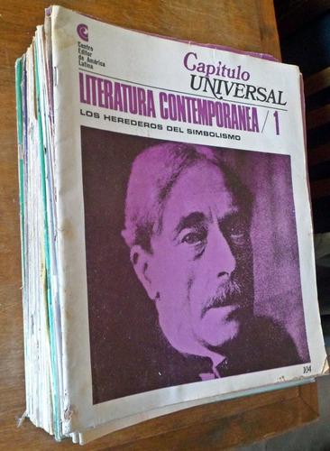 capitulo universal literatura contemporanea