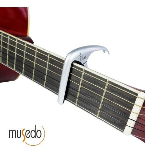 capo capotraste recto de guitarra criolla o clásica musedo mc-6 mc6