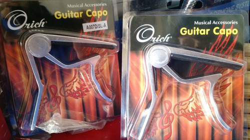 capo para guitarra clásica o acústica marca orich