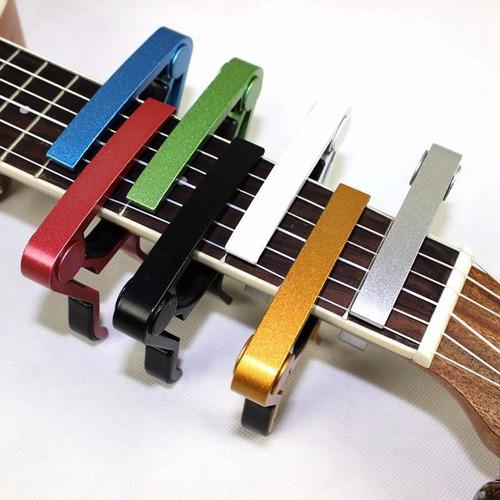 capo trasto guitarra eléctrica acústica ukulele envío gratis