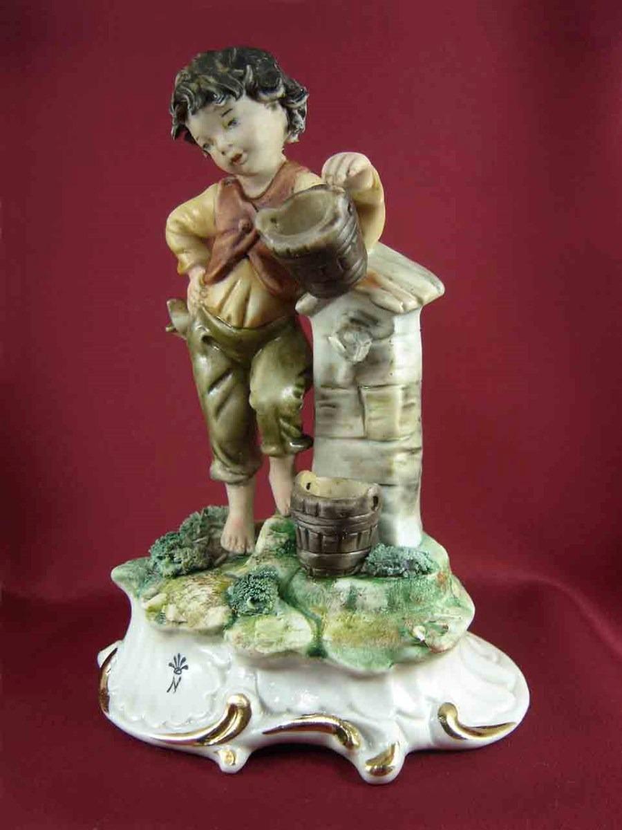 Capodimonte antigua figura italiana porcelana biscuit s for Porcelana italiana
