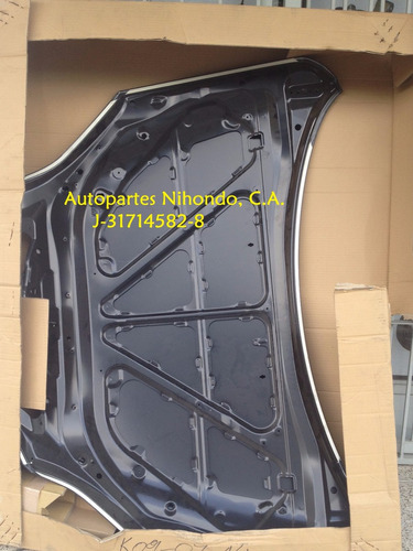 capot para mazda 3 hatchback original nuevo!!