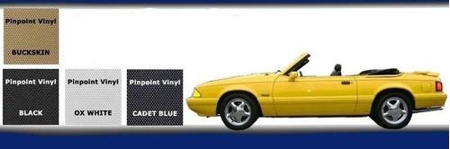 capota con ventana plastica para mustang 1991 - 1993