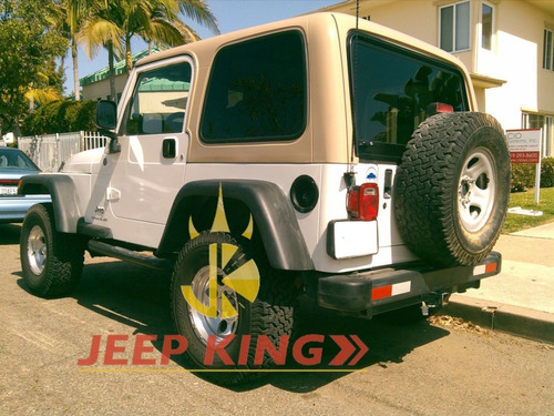 capota dura para jeep wrangler 1997-2006