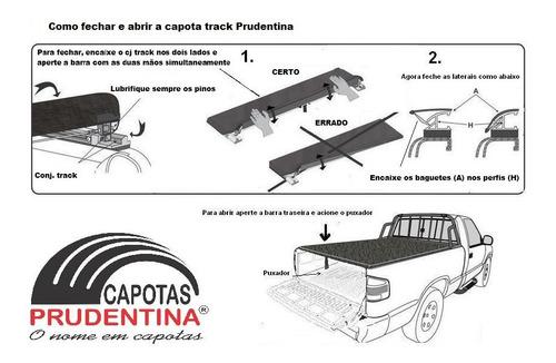 capota marítima track p/ saveiro cross cabine estendida 2012
