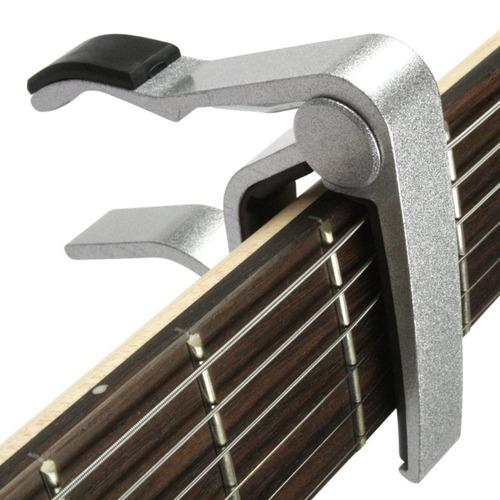 capotraste braçadeira metal alumínio para violão guitarra