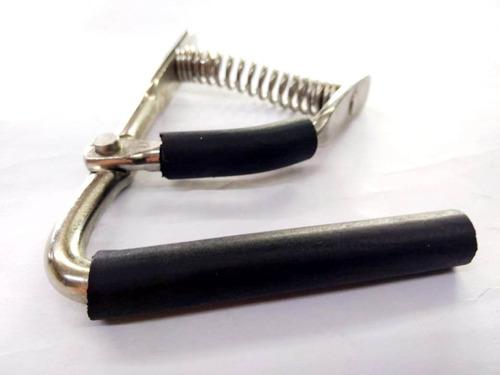 capotraste de mola braçadeira para violão e viola caipira