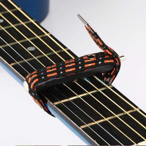 capotraste elastico importado para guitarra (liga)
