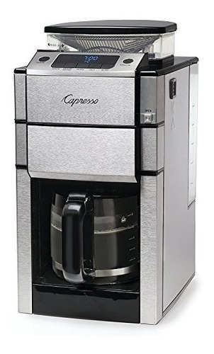 capresso 48705 cafetera + molino cafe electrico 12 tazas