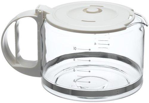 capresso  copa sustitución de vidrio jarra con la tapa de l