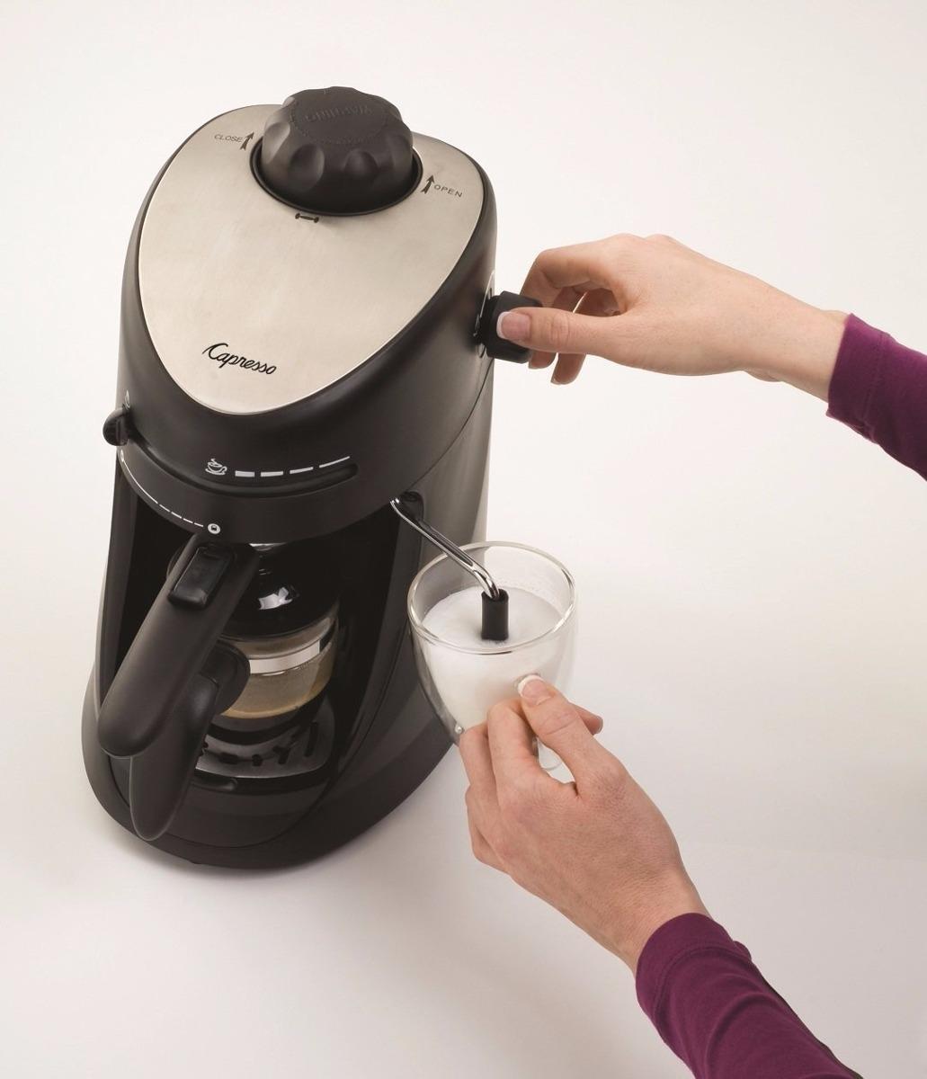Capresso m quina para cappuccino y espresso para 4 tazas for Tazas para espresso