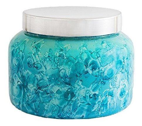 capri azul 48 oz firma acuarela jumbo jar vela volcan