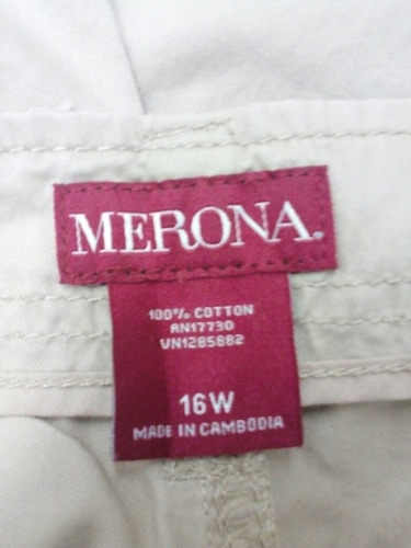 capri para dama talla extra 2xl marca merona ropa americana