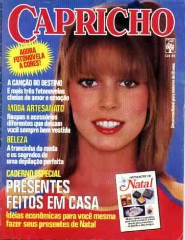 capricho nº 523: cláudio marzo - paola pitti - 1980