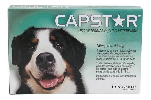 capstar 57mg para cães de 11 a 57kg - 1 comprimido