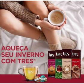 Cápsula Café Três Corações - Promoção - Kit C/ 100 Unidades