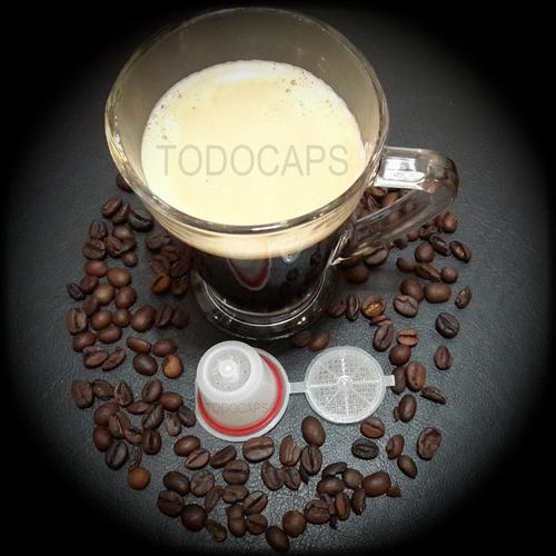 capsula capuchon recargable la mejor del mercado p/nespresso