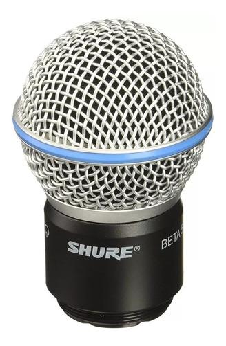 cápsula completa para microfone shure slx pgx beta 58