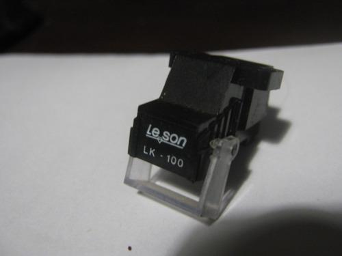 capsula cristal toca discos vitrola leson lk100