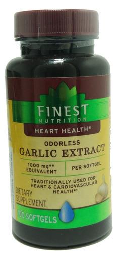 cápsula de extrato de alho garlic extract 1000 mg 100 caps