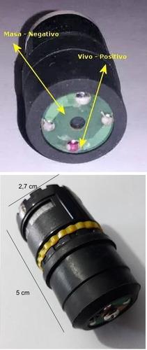 cápsula de repuesto para micrófonos dinámicos