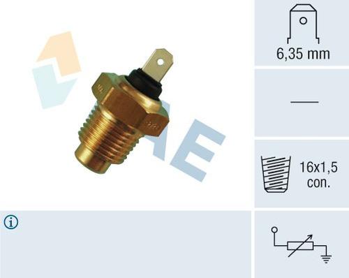 capsula de temperatura niva 2121 1976-2013 original fae