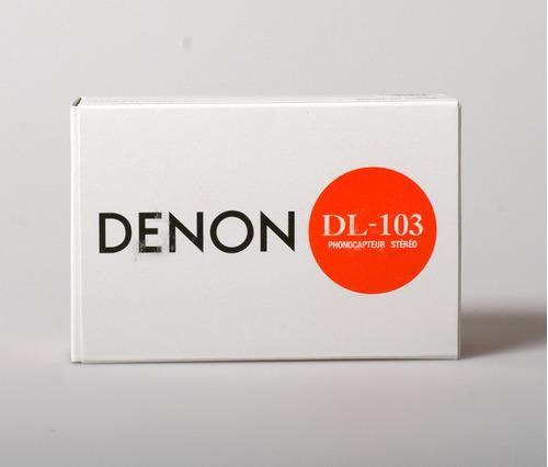 capsula denon dl-103 moving coil - entrega inmediata