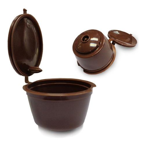capsula dolce gusto cafe reutilizable recargable