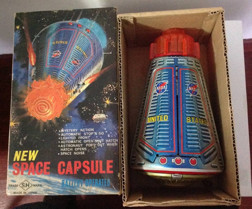 capsula espacial da nasa!! mande in japan!!!!!!