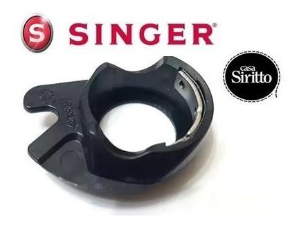 capsula portabobina para maquina singer florencia + carretel
