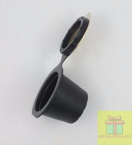 capsula recargable rellenable reusable nescafe nespresso