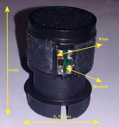 capsula repuesto para reparar micrófonos dinamicos