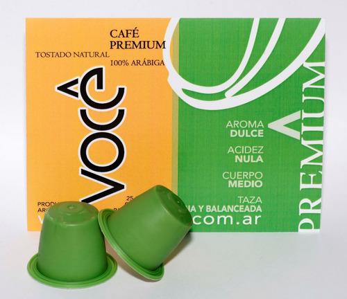 cápsulas compatibles você premium para nespresso   x 25 u.