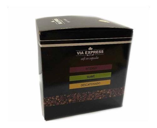 cápsulas de café compatibles con máquinas nespresso x10 unid