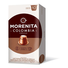 Cápsulas De Café Morenita X 10u