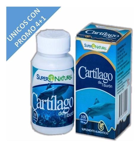 capsulas de cartilago de tiburon supernatural 500 mg