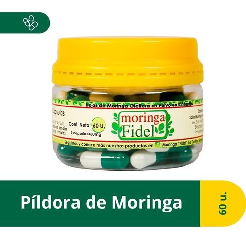 cápsulas de moringa oleifera  fidel  x60u
