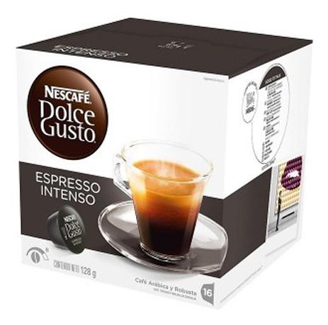 capsulas dolce gusto nescafe sabor espresso intenso