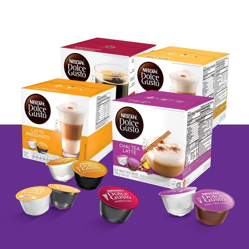 cápsulas dolce gusto x16 ¡caja cerrada al mejor precio!