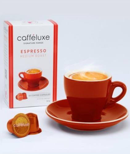 cápsulas medium roast coffee (padrão nespresso)