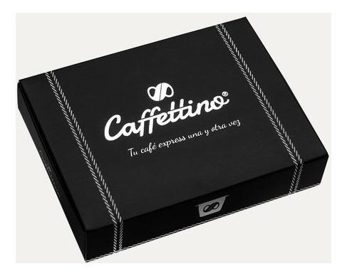 capsulas nespresso cafe recargables caffettino x4 - eco