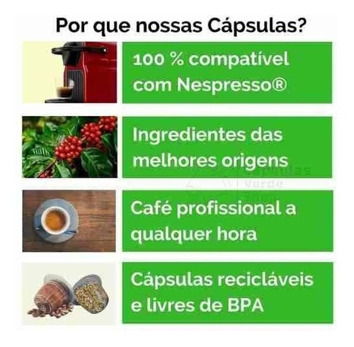 cápsulas nespresso cápsula café