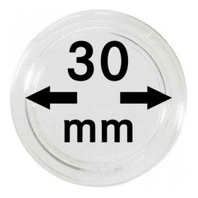 Capsulas Para Monedas Marca Lindner Original 30 Mm